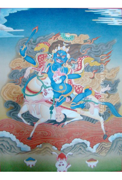 Palden Lhamo Thanka