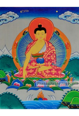 Shakyamuni Figure Thangka